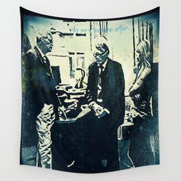 Manage a Trois (Office Drama) Wall Tapestry