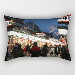 Tokyo Street Rectangular Pillow