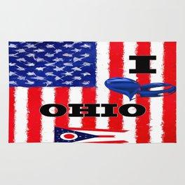 I Love Ohio Rug