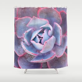 Laced with Pink Shower Curtain