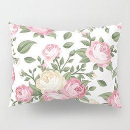 Rosy Posy Pillow Sham