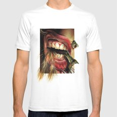 Animal Tomb  White MEDIUM Mens Fitted Tee