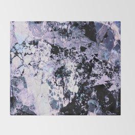 Moody Marble Throw Blanket