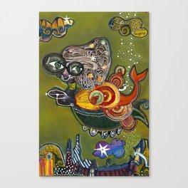 Star Hopping Canvas Print