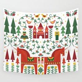 Scandinavian Inspired Fairytale Wall Tapestry