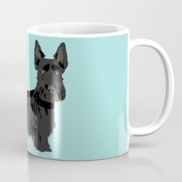 scottish terrier scotties funny farting dog breed pure breed pet gifts Coffee Mug