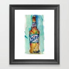 Miller Lite Framed Art Print