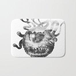Beholder (Black & White) Bath Mat