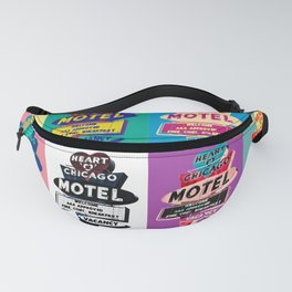 Heart 'O' Chicago Warho-tel Fanny Pack