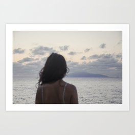 The island and you Art Print