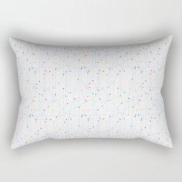 The network Rectangular Pillow