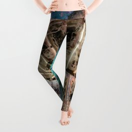Dip Your Toes In the Stars Leggings