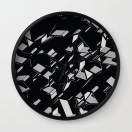 3D Mosaic BG II Wall Clock
