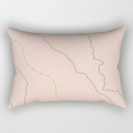 Maps Maps Maps Rectangular Pillow