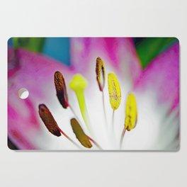 Summer Lily Cutting Board