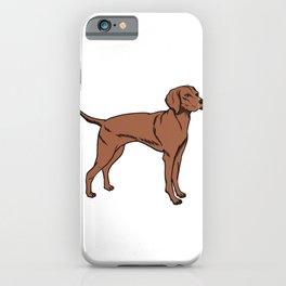 Magyar Vizsla Dog Owner Gift Idea iPhone Case