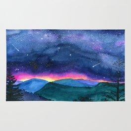 Good Night Smoky Mountains Rug
