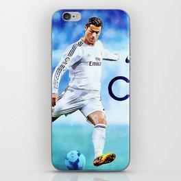 Cristiano Ronaldo Juventus iPhone Skin