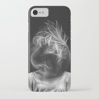 wind iPhone & iPod Cases featuring Wind by Illustratic
