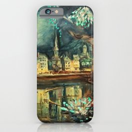 Fireworks on the River Seine, France, Bastille Day by Othon Friesz iPhone Case