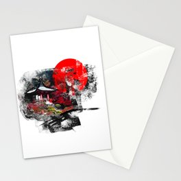 Abstract Kyoto Stationery Cards