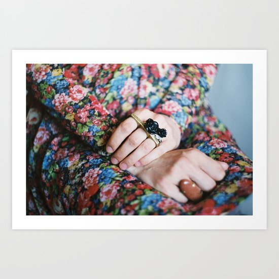 Jewelry Art Print