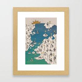Lamp Lighter Framed Art Print