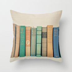 Literary Gems I Throw Pillow