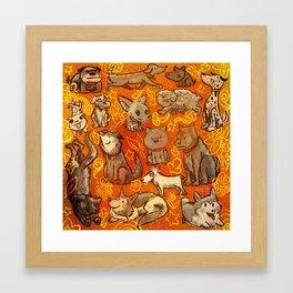 Gang Framed Art Print