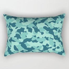 Beach Camouflage Rectangular Pillow