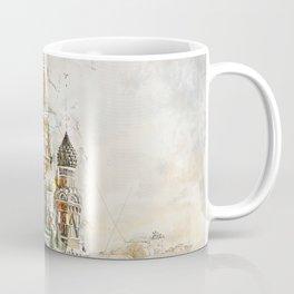 Saint Basil, Moscow Russia Coffee Mug