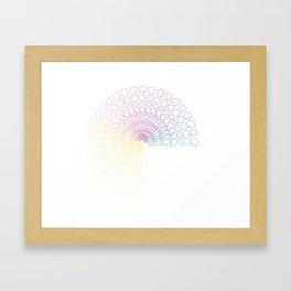 CHAMPION SUN TEE Framed Art Print