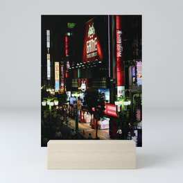 Game Time in Shinjuku Mini Art Print