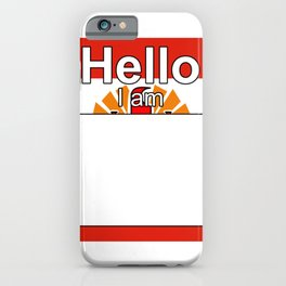 Hello I am from French Polynesia iPhone Case