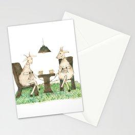 Sheep knitting Stationery Cards