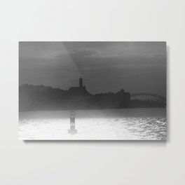 Dawn in the river Metal Print