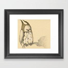 Owl. Or not. Framed Art Print