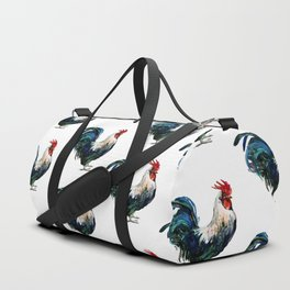Rooster Decor, Beautiful Rooster French country style design artwork, kitchen Duffle Bag