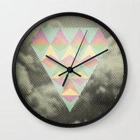diamond Wall Clocks featuring Diamond by Metron