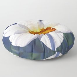 the genus of narcissus Floor Pillow