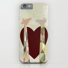 Love Giraffes iPhone 6s Slim Case