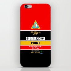 Southern Most Point, Key West, Florida/サザン・モスト・ポイント iPhone & iPod Skin