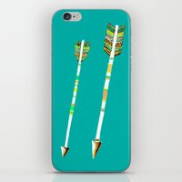 arrow iPhone & iPod Skins featuring Arrow by yuyuy