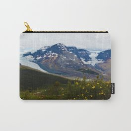 The Athabasca & Snow Dome Glaciers in Jasper National Park, Canada Carry-All Pouch