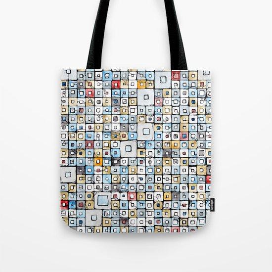 Grid#01 Tote Bag