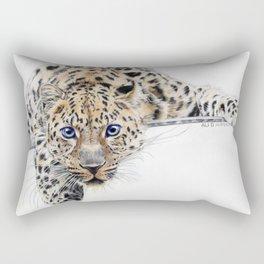 Local Eyes 'Leopard' Rectangular Pillow