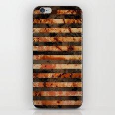Rusty barrel abstraction iPhone & iPod Skin