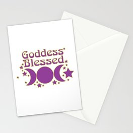 Goddess Blessed Stationery Cards