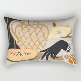 Fruitful Spread Rectangular Pillow