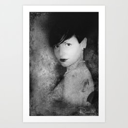 Martha Art Print